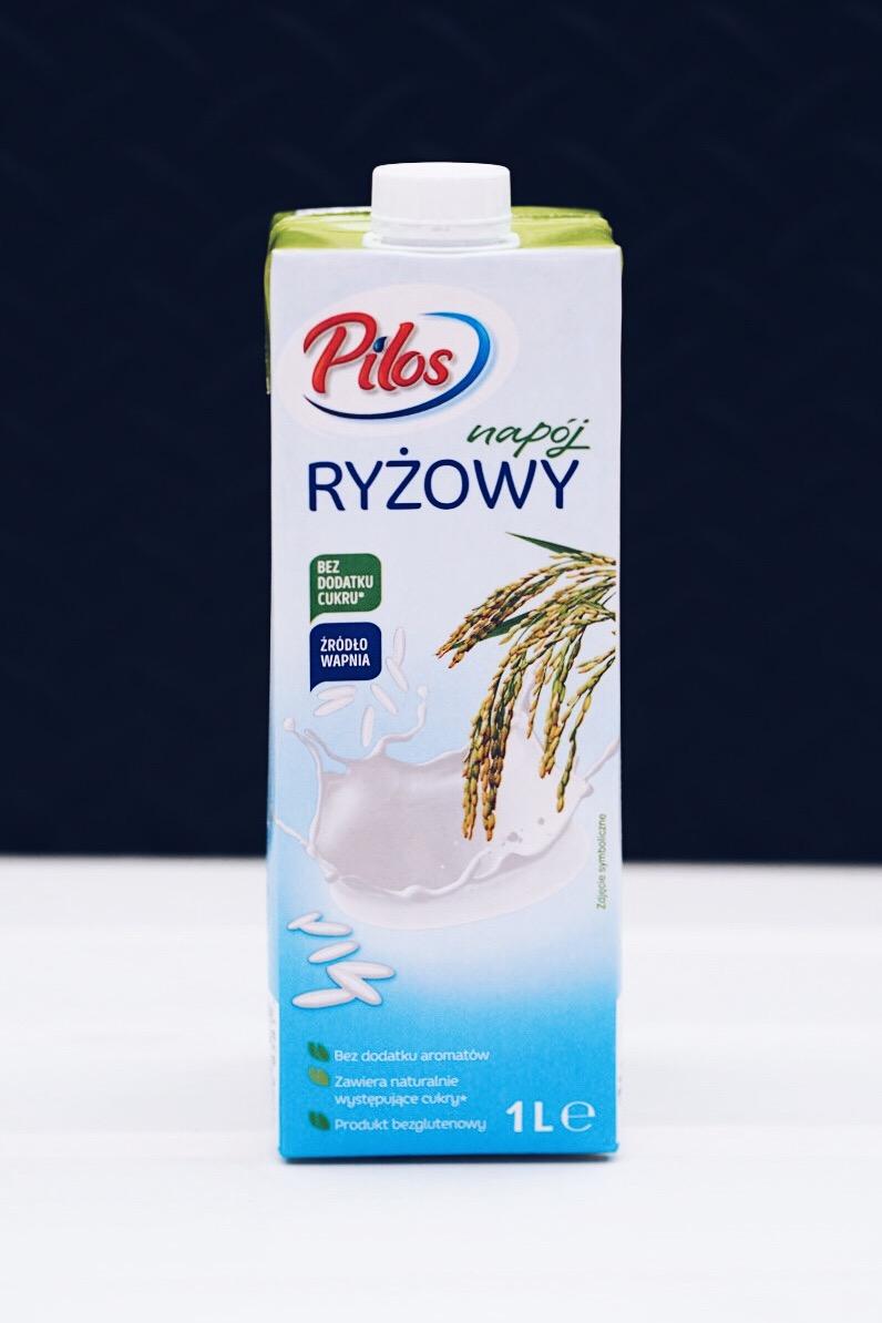 Napój ryżowy Pilos z Lidla.