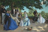 Frédéric Bazille Réunion de famille © RMN-Grand Palais (Musée d'Orsay)