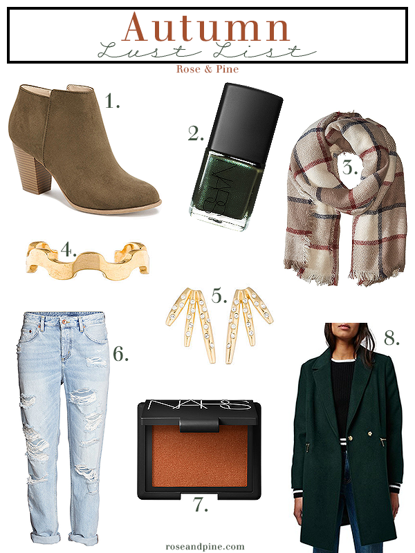 Autumn Shopping Inspiration