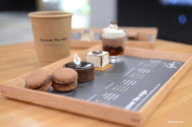 Single Origin Chocolate Pastries Platter - RM21