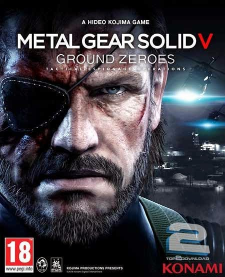 Metal Gear Solid V Ground Zeroes action games