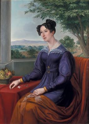Portrait de Maria Elisabeth Gogel (1822), Louise Seidler