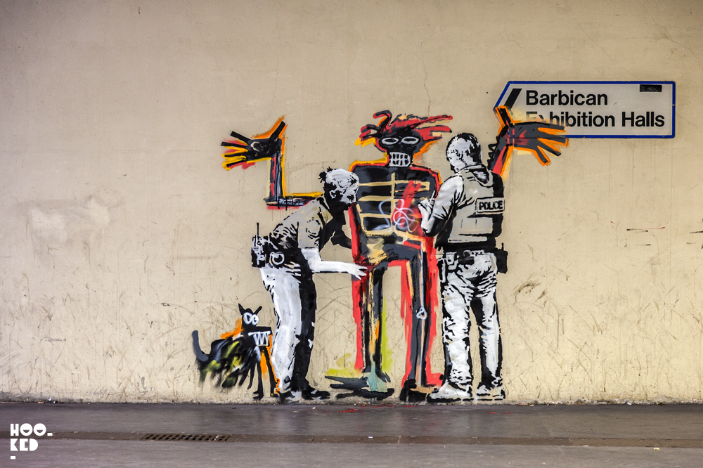 Banksy- London Street Art at the Barbican Centre
