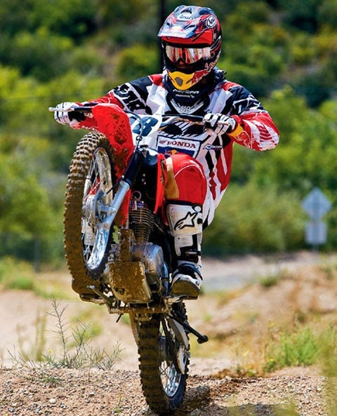 Honda Motorcross CRF Dirt Bike Wallpapers