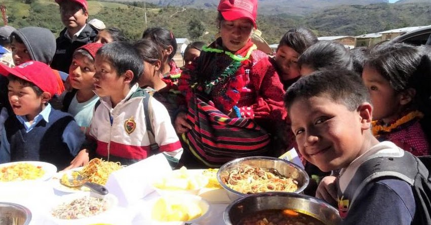 QALI WARMA: Presentan comida nutritiva a estudiantes quechuahablantes de Lambayeque