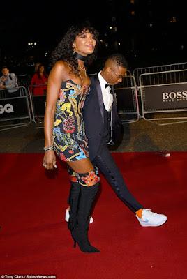 Naomi Campbell & Wizkid
