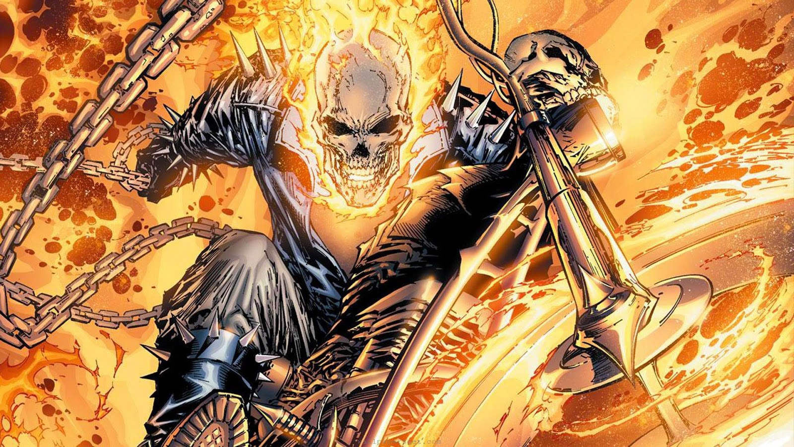free hd wallpapers: ghost rider 2 wallpapers collection