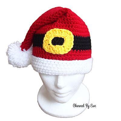 10 Free Santa Claus Theme Crochet Patterns