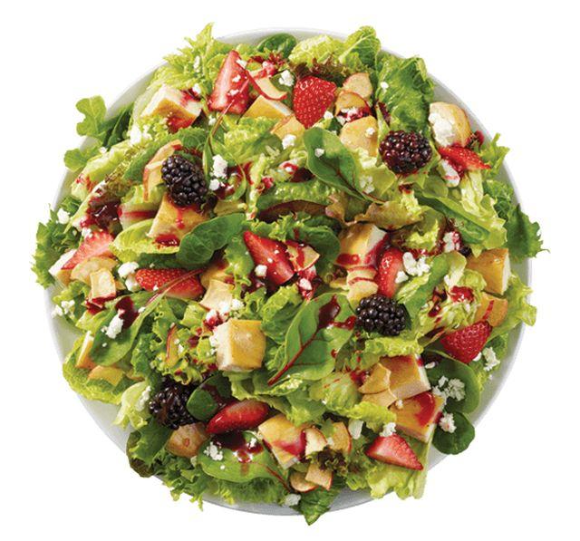 Wendys Menu Salads Wendy's Adds New Summe...