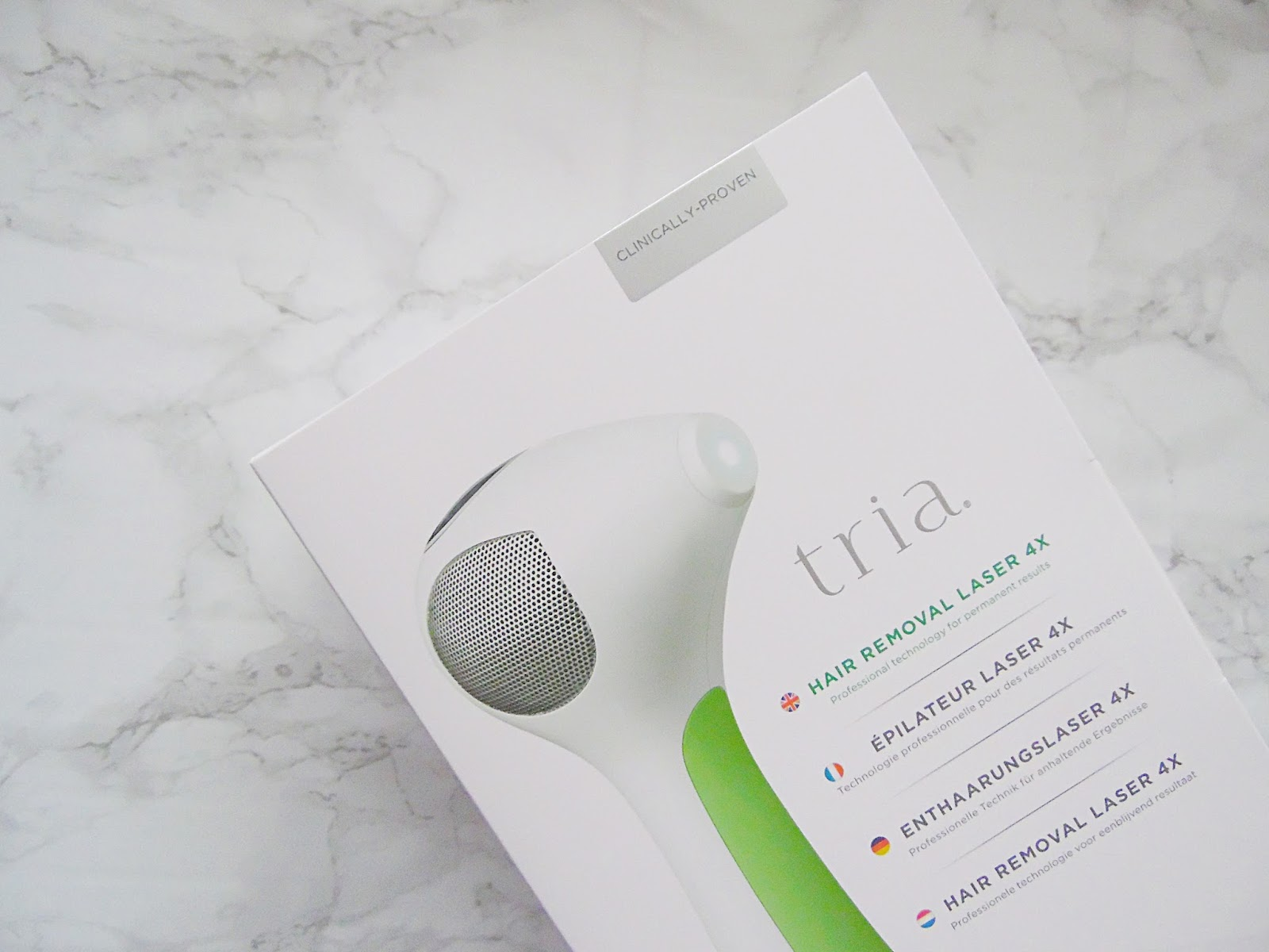 Tria Beauty At Home Laser Hair Removal Six Week Update