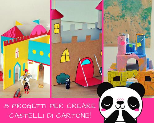 Costruire un castello per i bambini con le scatole di for Creare progetti online