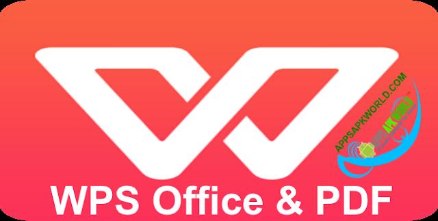WPS Office + PDF Cracked APK Image