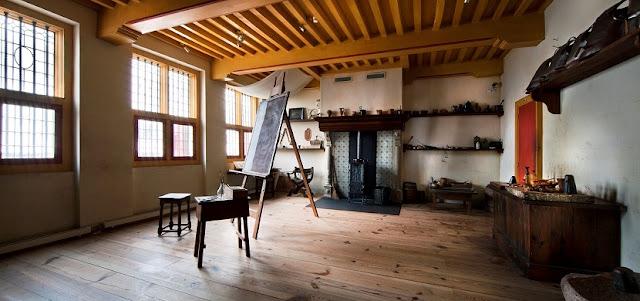 Salas da Casa de Rembrandt em Amsterdã