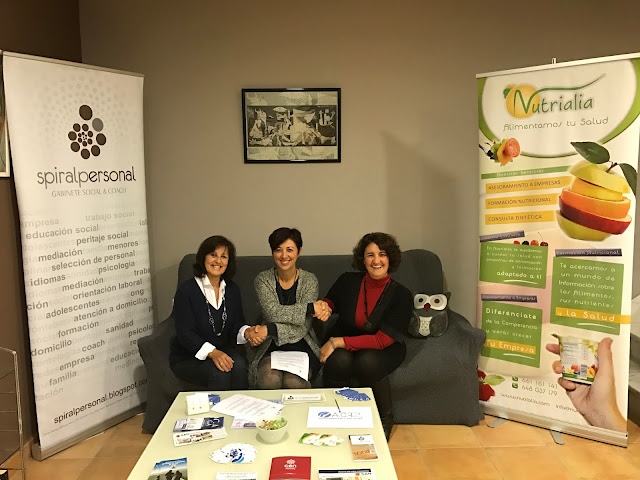 Acuerdo de Colaboración de Spiral Personal.Gabinete Social & Coach y Nutrialia