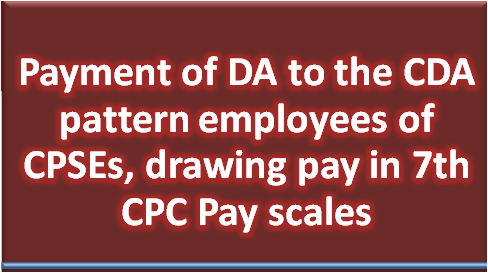 payment-of-da-to-cda-pattern-employees-cpses
