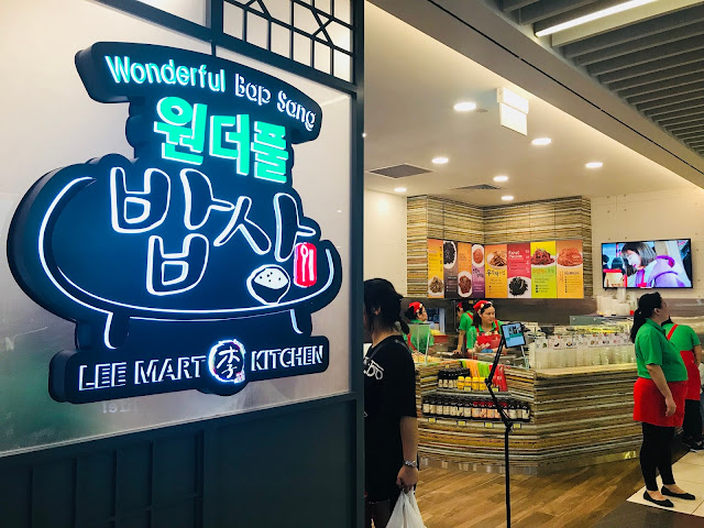 Wonderful Bap Sang + Lee Mart Kitchen