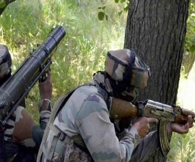 जम्मू कश्मीर के बांडीपोर में मुठभेड़, दो आतंकी ढेर; एक जवान शहीद