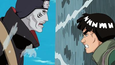 Kisame vs Gai