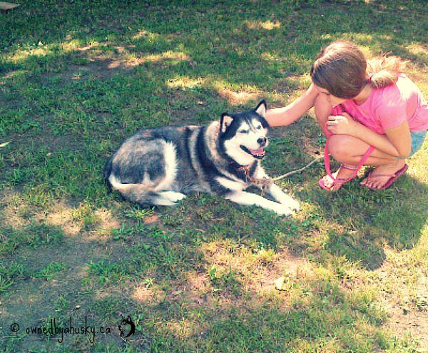 Family Flashback #HuskiesLoveKids