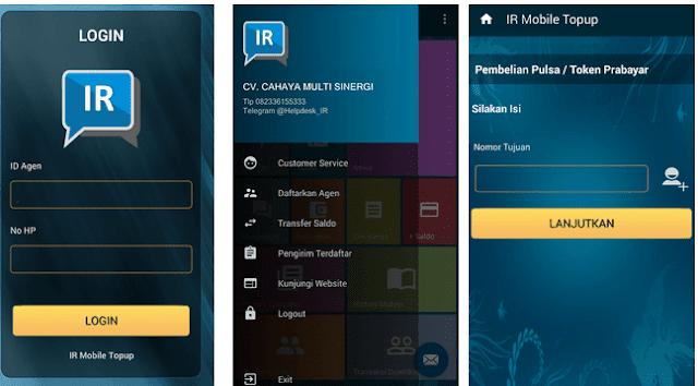 IR Mobile Topup Apk, Cara Download dan Menggunakan Aplikasi Android Istana Reload