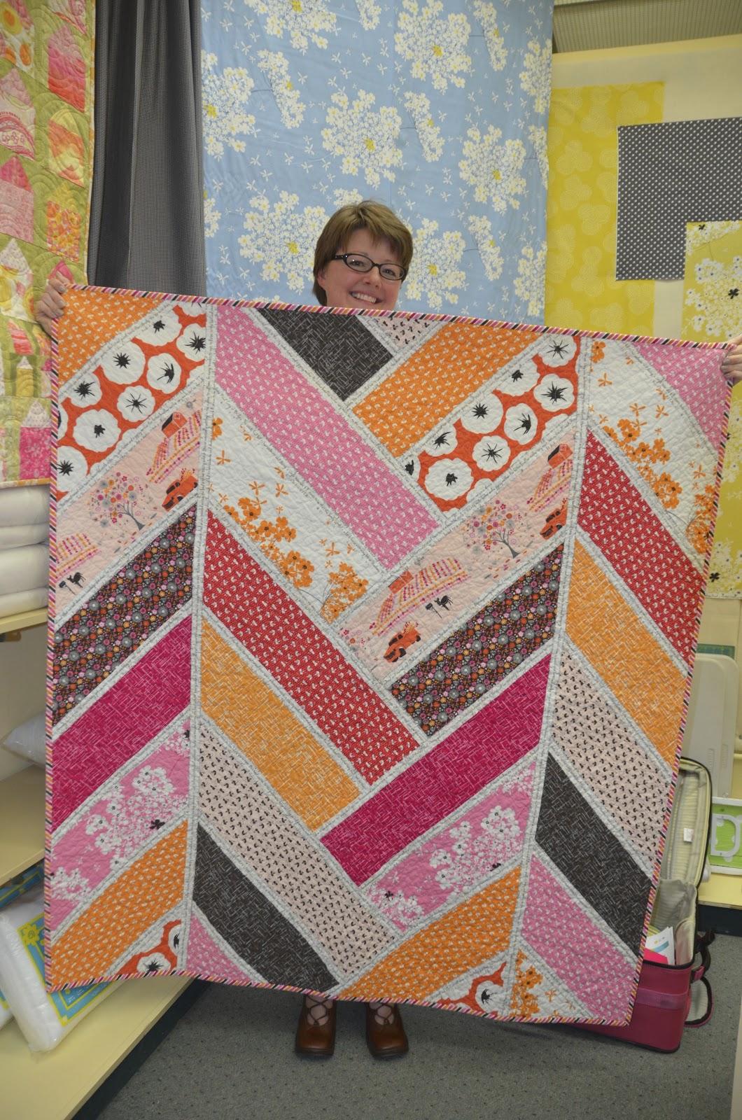 Pine Needle Quilt Shop Westside Modern Welcomes Violet Craft