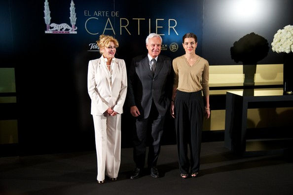"Some Cartier jewelry are display during the ""El Arte de Cartier"" exhibition opening at the Museum Thyssen Bornemisza"