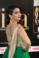 Manjusha in Beautiful Sleeveless Green Anarkali dress at IIFA Utsavam Awards 46.JPG