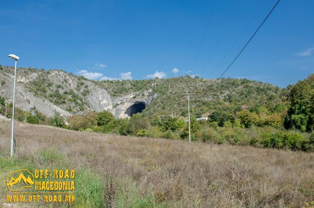 View toward Peshna Cave - Makedonski Brod, Macedonia