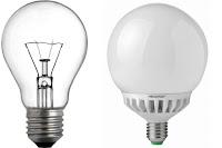 සූත්රිකා විදුලි බල්බ තහනම් - LED බල්බ නොමිලේ