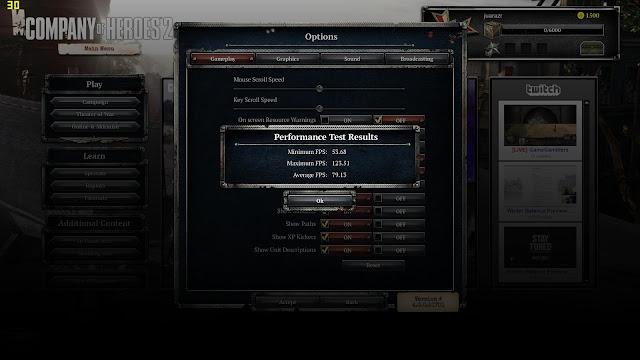 gaming benchmark