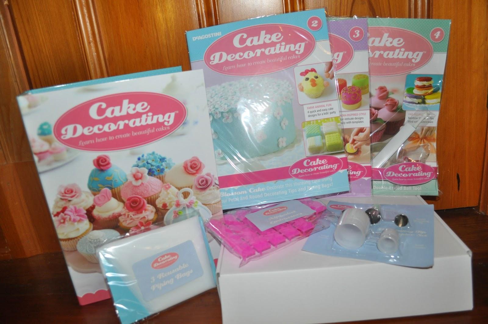 Deagostini Cake Decorating Kit
