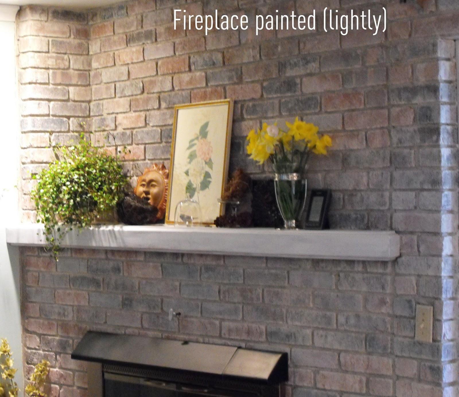Painting Bricks Is Easy! - The Girl Creative