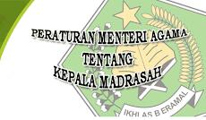 Download PMA Nomor 58 Tahun 2017 Tentang Kepala Madrasah