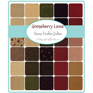 Moda Gooseberry Lane Fabric by Kansas Troubles Quilters for Moda Fabrics
