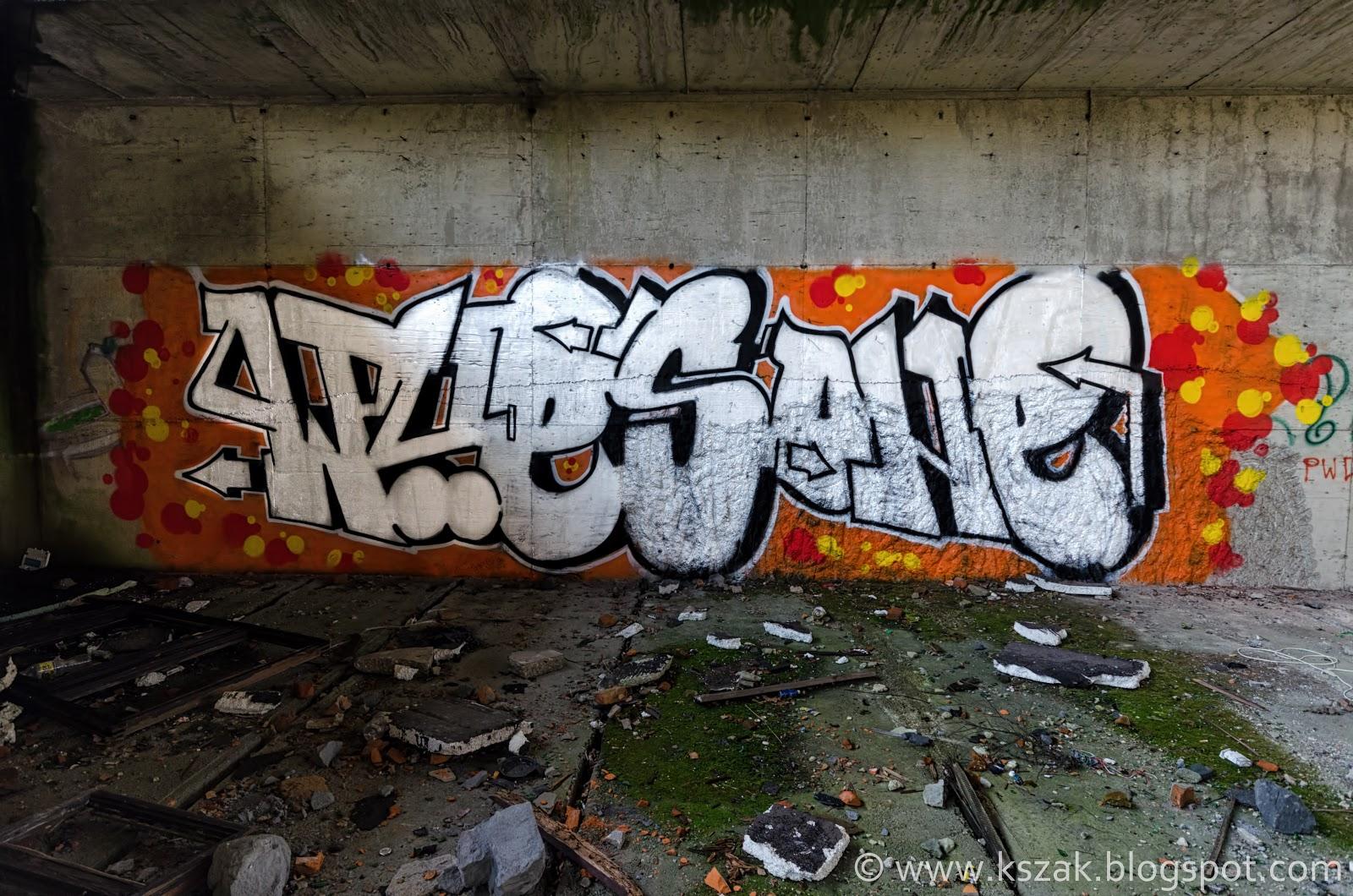 Graffiti basen Ozimek