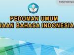 Buku Pedoman Umum Ejaan Bahasa Indonesia Kemendikbud Edisi Keempat
