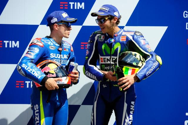 berita motogp Vinales : Musim depan, Rossi adalah pembalap yang harus dikalahkan