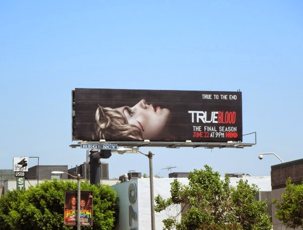True Blood final season billboard