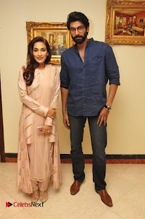 Aiswarya Rajinikanth Dhanush Standing on an Apple Box Launch Stills in Hyderabad  0048.jpg