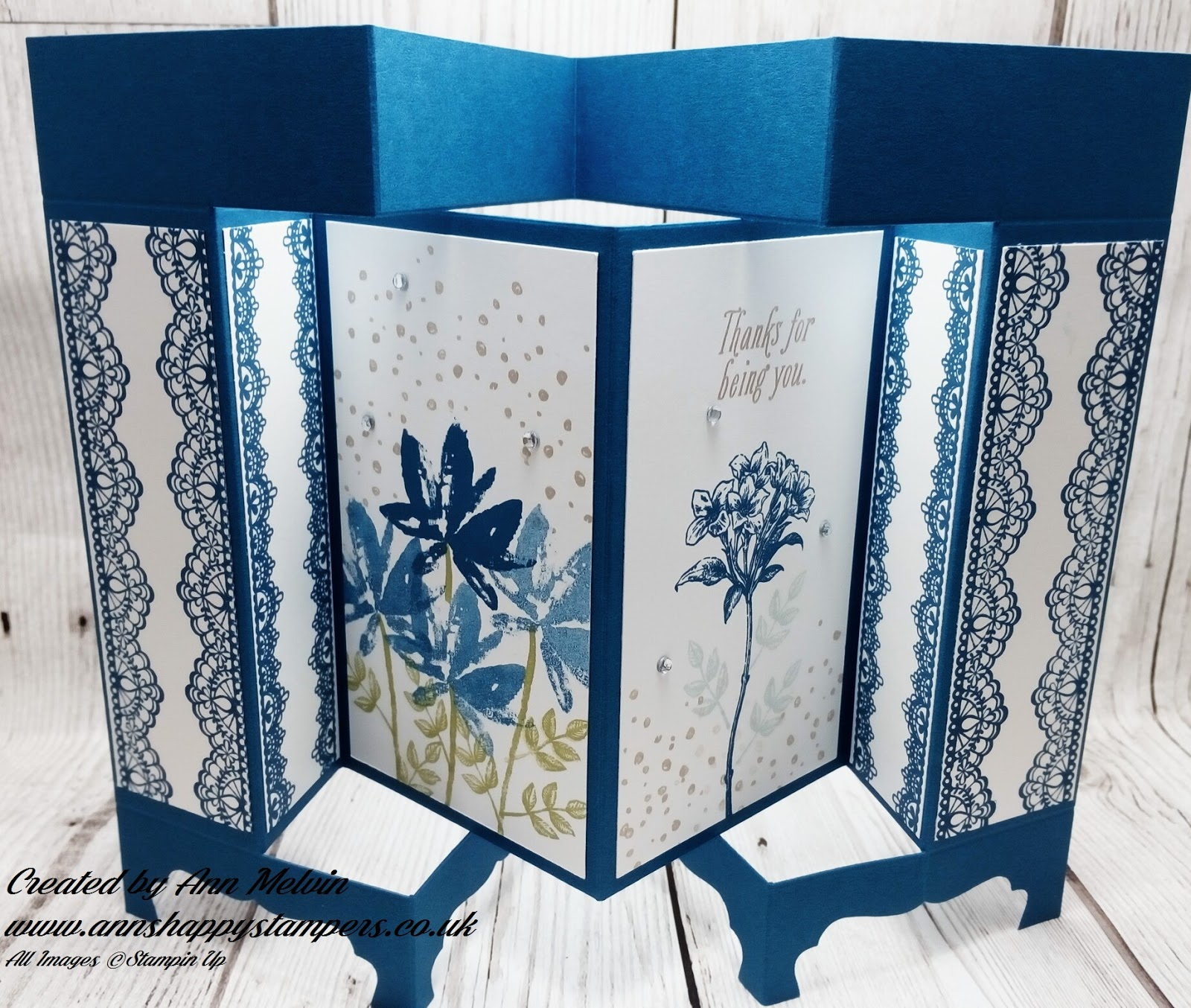 bdfb176c0 Positively papercraft  Fancy version of a screen card