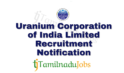 UCIL Recruitment notification of 2018