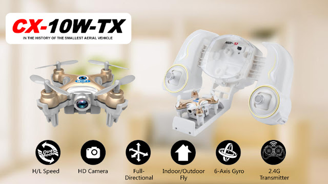 Cheerson CX-10W-TX WIFI Camera Quadcopter