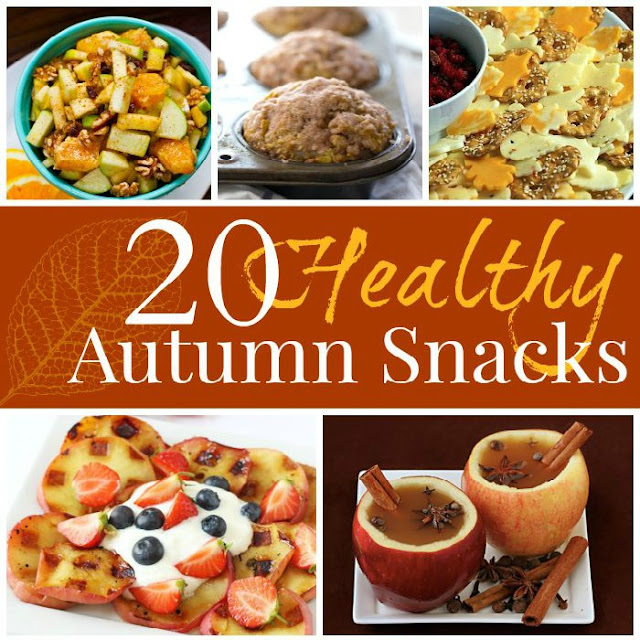 20 healthy fall snacks what can we do with paper and glue httpcuttingtinybites201509healthy forumfinder Choice Image