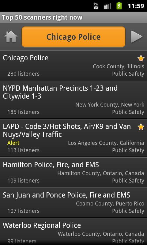 Free APK Android Apps: Scanner Radio v3 4 - Download APK