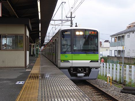 京王電鉄 区間急行 若葉台行き7 都営10-300R形320F・350F・360F(2016.9廃止)