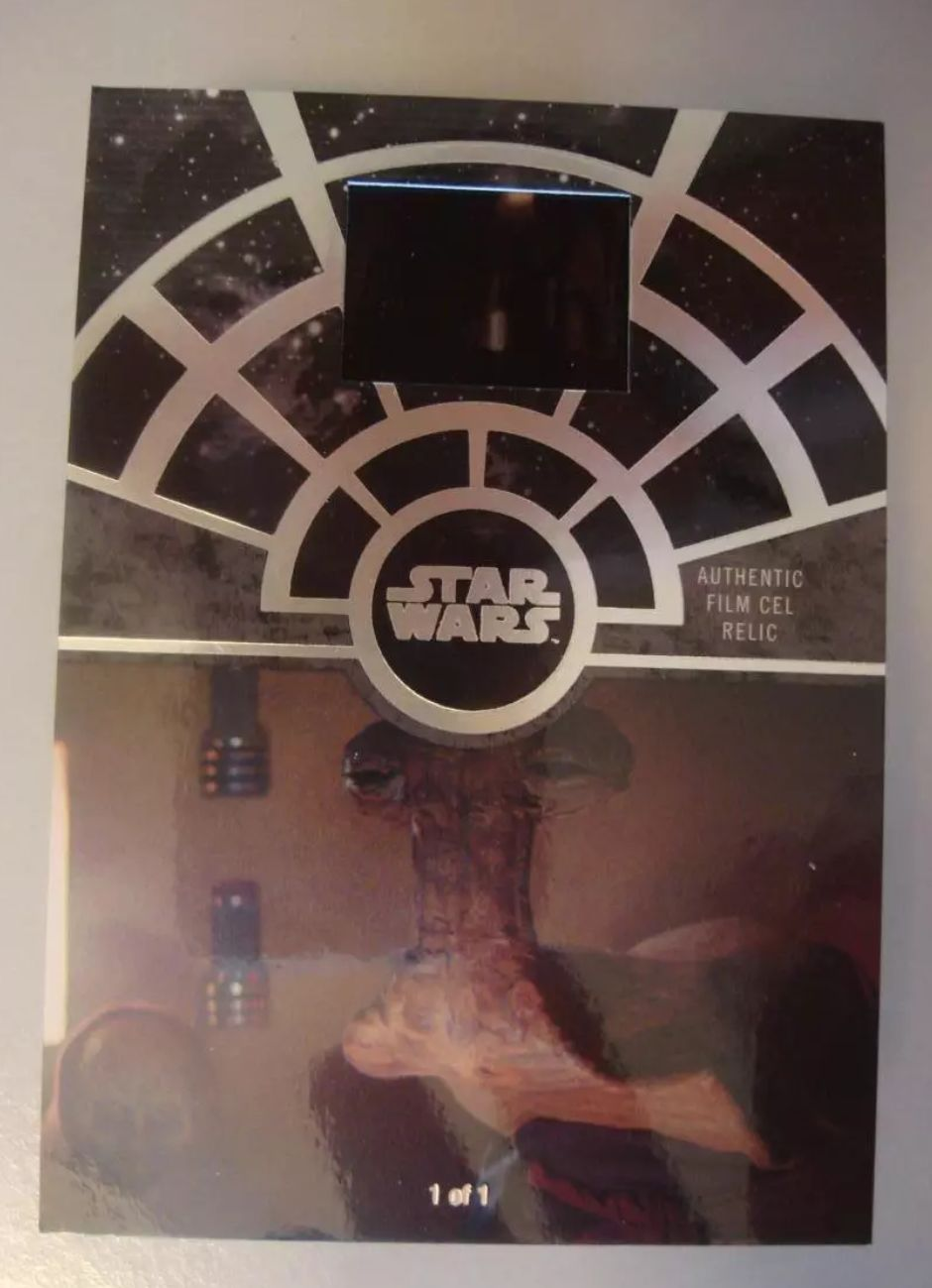 The Sphinx Star Wars 40th Anniversary Film Cel Relic Card Topps 2017