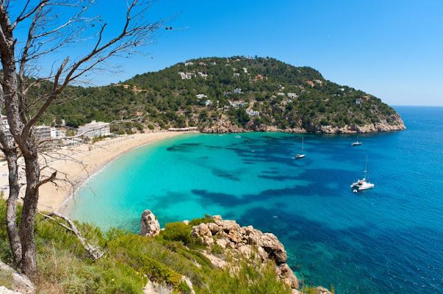Cala Salada em Ibiza