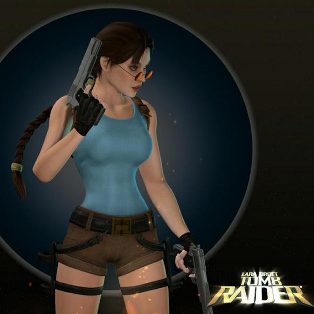 Lara Croft V.1 Wallpaper Engine