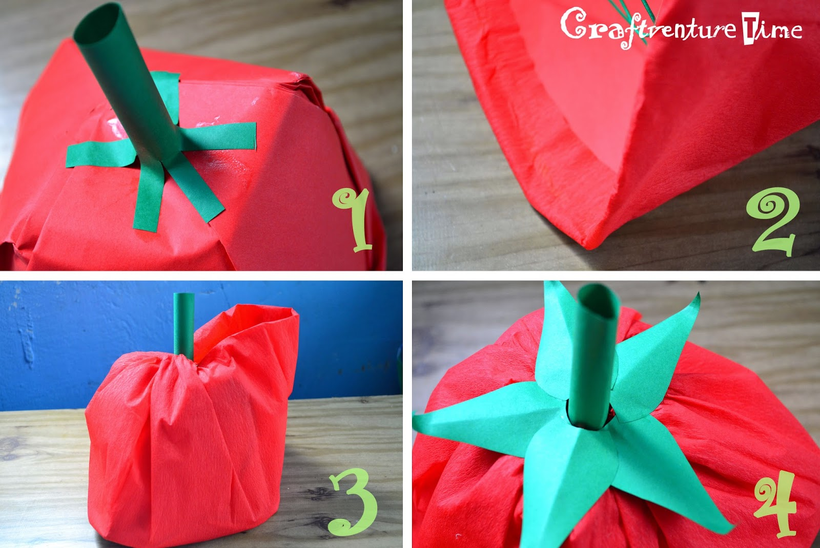 Craftventure Time: DIY Fruit and Veggies Hats from Paper ... - photo#46