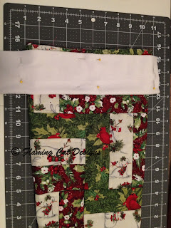 Fitting A Cuff For A Christmas Stocking